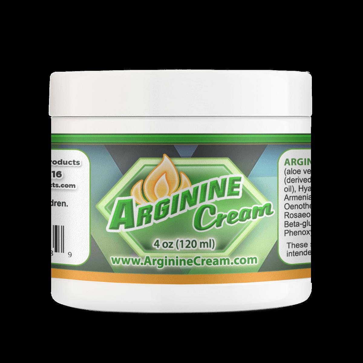 Arginine Cream 2% 4oz Jar Help Improves Sexual Desire