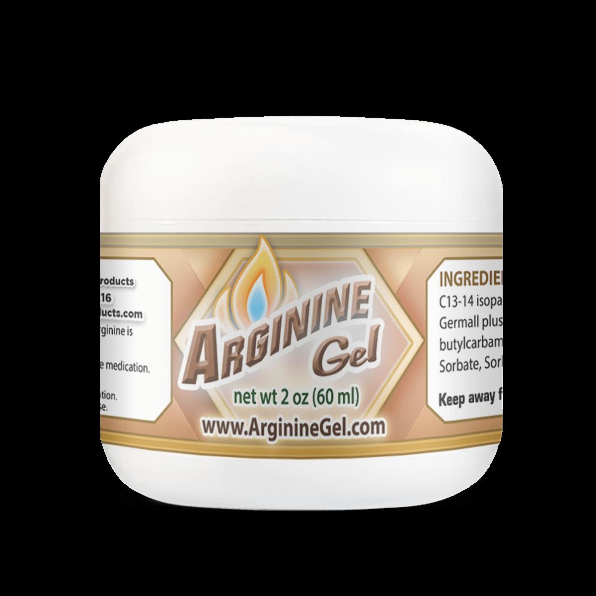 Arginine Gel 2oz Jar Enhanced Intimacy in Men
